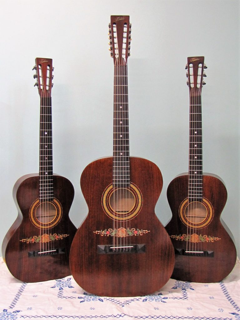 Fraulini Decalomania 6 and 12 strings